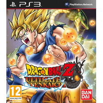 Dragon Ball Z Ultimate Tenkaichi Ps3