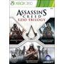 Assassins Creed Ezio Trilogy Xbox 360 Nuevo Original Jxr