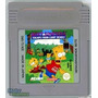 Bart Simpson - Escape From Camp Deadly - Game Boy Gbc Gba