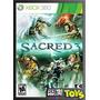 Xbox Sacred 3 Nuevo Original Sellado!!!