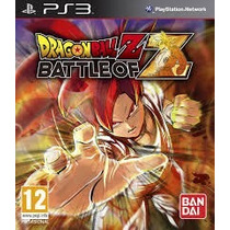 Juego Dragon Ball Z Battle Of Z Ps3 Original Digital