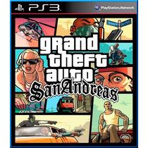 Grand Theft Auto San Andreas Ps3 Digital - Jxr