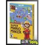 Wii U Super Mario Maker Nuevo, Original Y Sellado!!!!