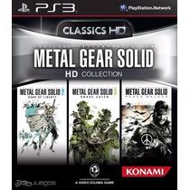 Metal Gear Solid Hd Coleccion Formato Digital Ps3 Original