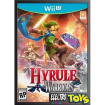 Wii U Hyrule Warriors - Nuevo Original Y Sellado!