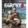 Farcry 3 Far Cry 3 Ps3 Consola Sony