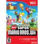 Juego New Super Mario Bros Wii, Nuevo, Original