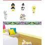 Cenefas Adhesivas Decorativas Looney Tunes Baby