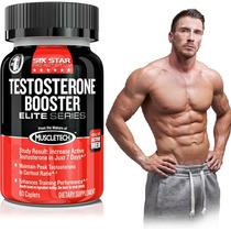 Testosterone De Muscletech 60 Caps Aumenta Masa Muscular