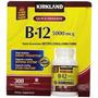 Vitamina B-12, 5000 Mcg, 300 Tabletas De Rápida Disolución