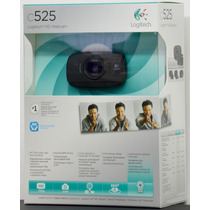 Camara Web Logitech Hd C525