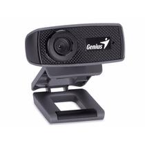 Camara Web Genius Facecam 1000x, Microfono, Hd 720p, Usb
