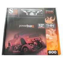 Powerbass S-12td Bajo Plano De 12 Doble Bobina