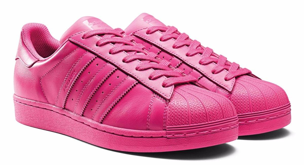 adidas superstar zapatillas fosforitas
