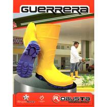 Botas Guerrera Seguridad Amarilla Rh - Cana Alta -robusta