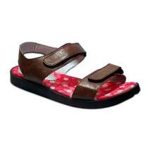 Sandalias Para Mujer Planas Bibiana. Zapatos En Goma