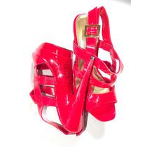 Zapatos Con Plataforma Y De Correas