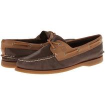 Zapatos Sperry Top Sider-tipo Bote-cuero Vacuno