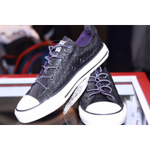 Tenis Converse Zapatillas Brillantes Escarchados 100% Origin