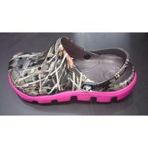 Zapatos Crocs Tractor Mujer Camuflada Original