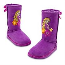 Espectaculares Botas Originales De Disney Rapunzel