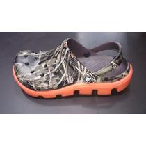 Zapatos Crocs Duet Sport Hombre Camuflada Original