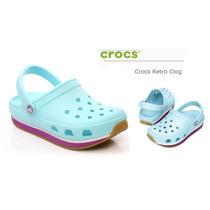 Crocs Retro Clog 100% Originales Envíos A Todo El Pais