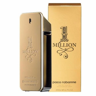Perfume Original Hombre One Million Paco Rabanne (200ml)