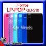 Forros Lg Pop Gd 510 Gel Atp Manguera Silicona Funda Forros   LA_TIENDA