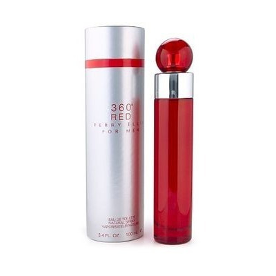 Perfume 360 red by perry ellis hombre/mujer 100 ml original