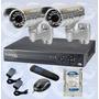 Kit Video Vigilancia Cctv Dvr 4 Canales+disco Duro Truvision | TRUVISION COMPANY
