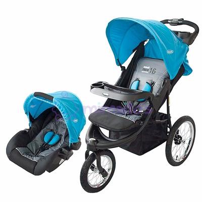 Coche bebesit kiddo 4en1 jogger todo terreno llanta inflable for Sillas para carro kiddo