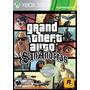 Fisico  Original Xbox 360 Grand Theft Auto San Andreas Gta