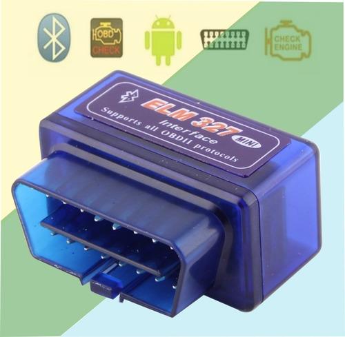 Escaner Elm327 Automotriz Bluetooth V. 2.1 Obd2 Software