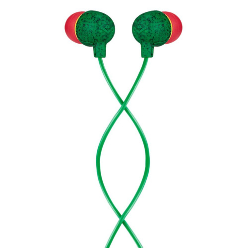Tec Audífonos Little Bird In-ear Rasta Marca House Of Marley