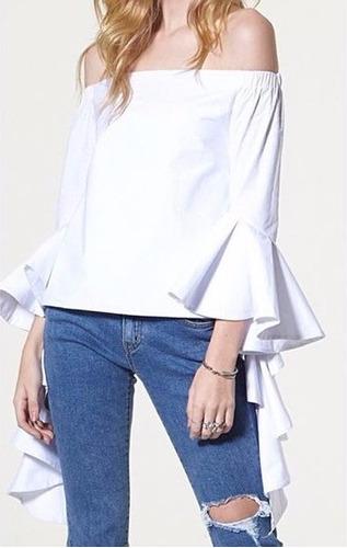 Blusas para mujer Limonni LI888 Campesinas
