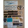 Toyota Land Cruiser 4.5/fj75/set De Emblemas Y Calcomanias Toyota Highlander