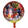 Globo Metalizado Avengers Bomba 18  Super  Heroes