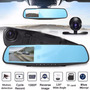 Retrovisor Espejo 1080p Con Doble Camara Dvr Video Y Reversa | MEGAOFERTAS ONLINE