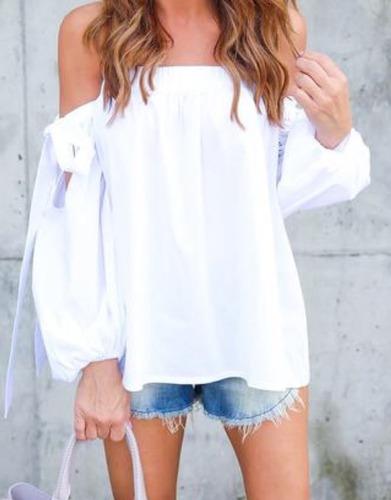 Blusas para mujer Limonni LI675 Campesinas
