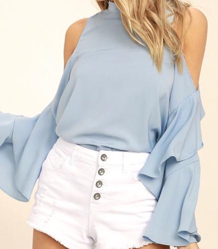 Blusas para mujer Limonni LI615 Campesinas