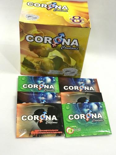 Caja De 144 Condones Preservativos Lubricados Con Olor