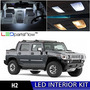 Ledpartsnow  Hummer H2 Led Luces Interiores Accesorios Kit  Hummer
