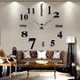 Reloj De Pared Diy 3d Decoracion Original Entrega Inmediata   ASILVA9506