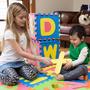 Tapete Foami Infantil 10 Piezas Alfanumérico Didáctico