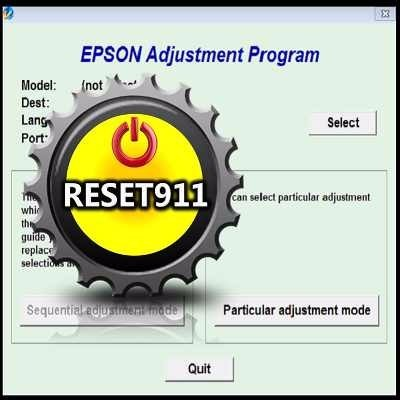 reset911, reset 911, reset epson