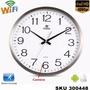 Camara Espia Oculta Reloj Pared Wifi Hd +audio, Cargador W01 | DILMUTE