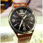 Reloj Casio Cuero Mtp-e129l-5av Hombre Original   GAMACA101