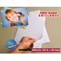 Resma Papel Fotografico Adhesivo Brillante 135gr.x 50 Hojas | CIBERTIENDA2008