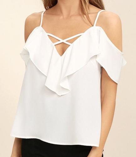 Blusas para mujer Limonni LI605 Campesinas